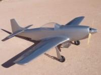 Carf P-51 Mustang 2.5m (Silber)