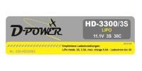 D-Power HD-3300 3S Lipo (11,1V) 30C