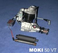 Moki 50 VT Einzylinder Viertakt