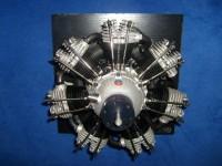 Moki Sternmotor S 350 ccm, 7 Zylinder