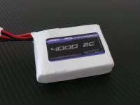 SLS XTRON RTX 4000mAh 2S1P 7,4V 2C/4C